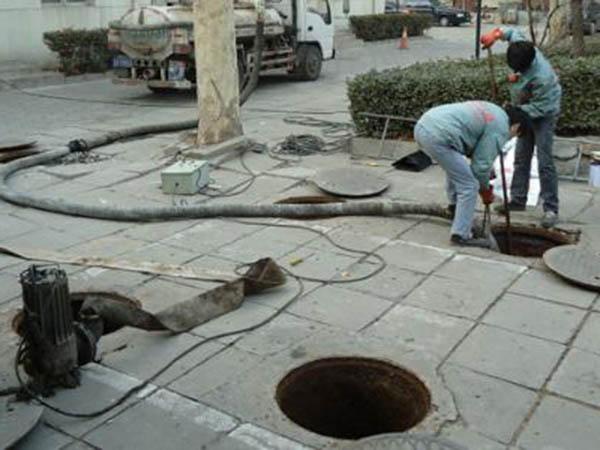 清洗管道使之通畅的方案